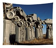 Carhenge In The Afternoon Tapestry