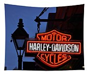 Harley Davidson New Orleans Tapestry
