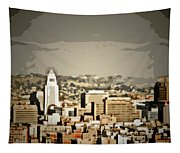 Los Angeles City Hall Tapestry