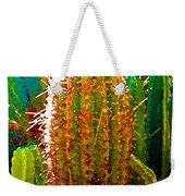 Backlit Cactus Weekender Tote Bag