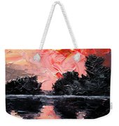 Sunset. After Storm. Weekender Tote Bag