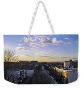 Sunset Row Homes Weekender Tote Bag