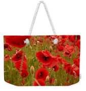 Red Poppies 4 Weekender Tote Bag