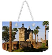 The Old City Gates Weekender Tote Bag by David Lee Thompson