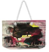 Abstract Twilight Landscape71 Weekender Tote Bag