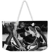 Bill Russell (1934- ) Weekender Tote Bag by Granger