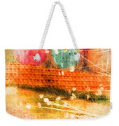 Branches And Brush Strokes Weekender Tote Bag