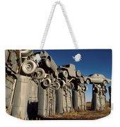 Carhenge In The Afternoon Weekender Tote Bag