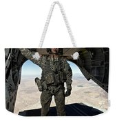 Ch-47 Chinook Crew Chief Stands Weekender Tote Bag
