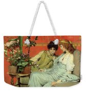 Confidences Weekender Tote Bag