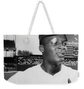 Curt Flood (1938- ) Weekender Tote Bag