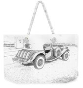 Drawing The Antique Car Weekender Tote Bag