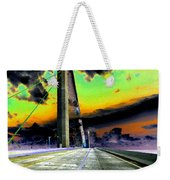 Dreaming Over The Skyway Weekender Tote Bag by David Lee Thompson