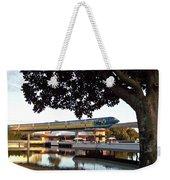 Epcot Tron Monorail Weekender Tote Bag by Carol  Bradley