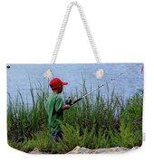 Fishing At Hickory Mound Weekender Tote Bag