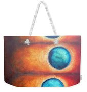 Floating Spheres Weekender Tote Bag