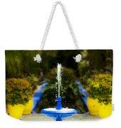 Fountain In Jardin Majorelle Morocco Weekender Tote Bag