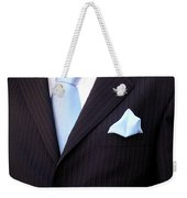 Groom's Torso Weekender Tote Bag by Carlos Caetano