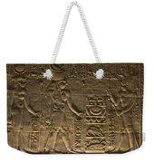 Hieroglyph At Edfu Weekender Tote Bag by Darcy Michaelchuk