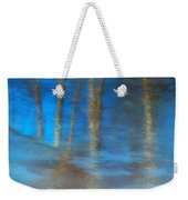 Ice Reflections Weekender Tote Bag