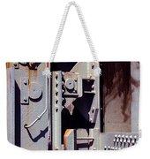 Industrial Background Weekender Tote Bag by Carlos Caetano
