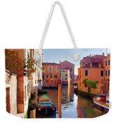 Late Afternoon In Venice Weekender Tote Bag