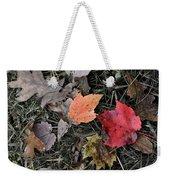 Leaves Are Falling Weekender Tote Bag