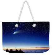 Mauna Kea Telescopes Weekender Tote Bag by D Nunuk and Photo Researchers