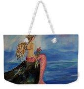 Mermaid Rainbow Wishes Weekender Tote Bag