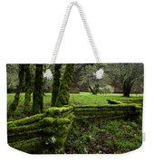 Mossy Fence 2 Weekender Tote Bag by Bob Christopher
