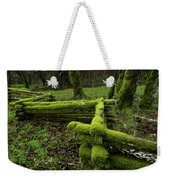 Mossy Fence 4 Weekender Tote Bag by Bob Christopher