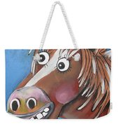 Mr Horse Weekender Tote Bag