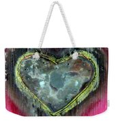 My Heavy Heart Weekender Tote Bag
