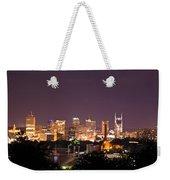 Nashville Cityscape 3 Weekender Tote Bag
