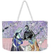 Performers On Stage Weekender Tote Bag