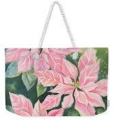 Pink Delight Weekender Tote Bag by Deborah Ronglien