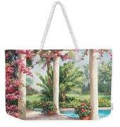 Poolside Garden Weekender Tote Bag