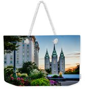 Slc Temple Js Building Weekender Tote Bag