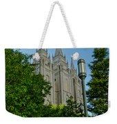 Slc Temple Walk Weekender Tote Bag by La Rae  Roberts