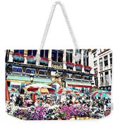 Sunny Day On The Grand Place Weekender Tote Bag by Carol Groenen
