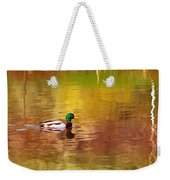 Swimming In Reflections Weekender Tote Bag