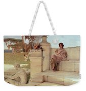 The Voice Of Spring Weekender Tote Bag by Sir Lawrence Alma-Tadema