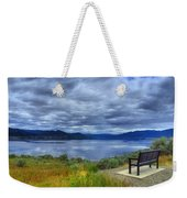 View From A Bench Weekender Tote Bag