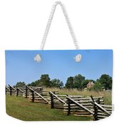 View Of Clover Hill Tavern Appomattox Court House Virginia Weekender Tote Bag by Teresa Mucha