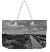 Walk To The Beach Alantic Beaches Nc Weekender Tote Bag