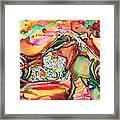 Chameleon Lowrider Framed Print