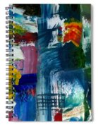 Abstract Color Relationships L Spiral Notebook