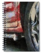 Car Rims 02 Photo Art 03 Spiral Notebook