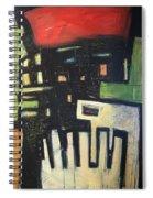 D Flat Spiral Notebook