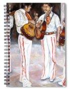 Mariachi  Musicians Spiral Notebook